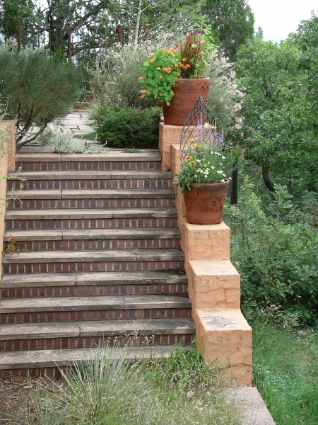 Historic villa style sustainable beauty for Terrace steps
